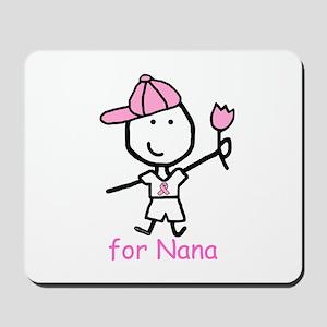 Pink Ribbon - Nana2 Mousepad