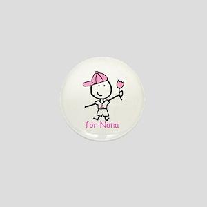 Pink Ribbon - Nana2 Mini Button