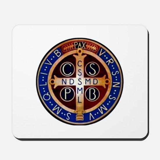 Benedictine Medal Mousepad