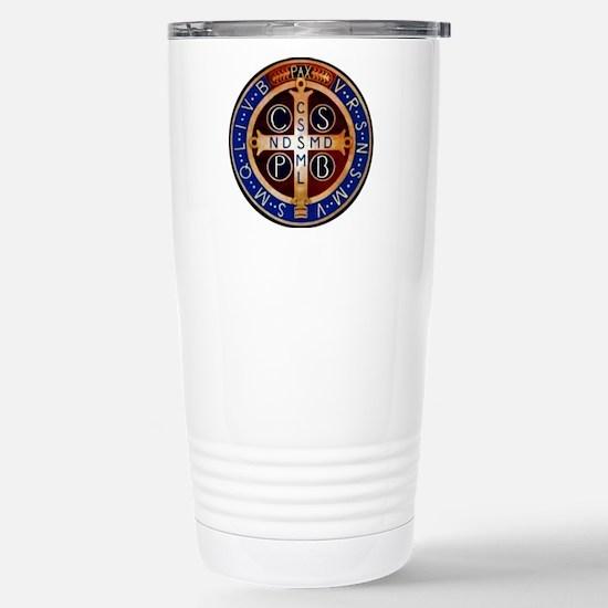 Benedictine Medal Travel Mug