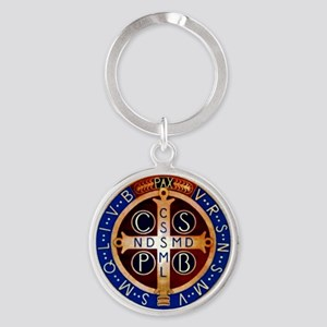 Benedictine Medal Keychains