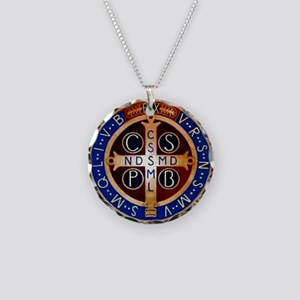 Benedictine Medal Necklace