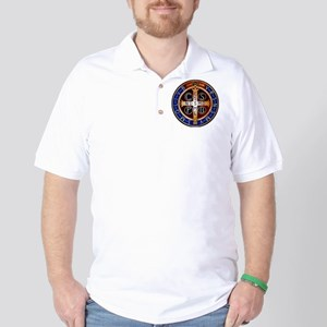 Benedictine Medal Golf Shirt