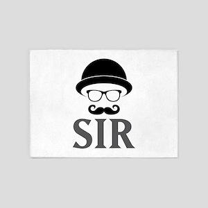 Sir 5'x7'Area Rug