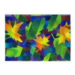 Leaf Mosaic 5'x7'Area Rug