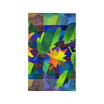 Leaf Mosaic 3'x5' Area Rug