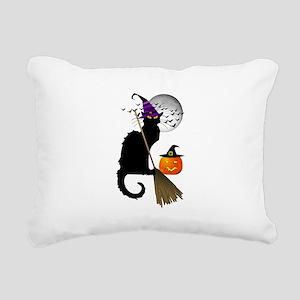 Le Chat Noir - Halloween Rectangular Canvas Pillow