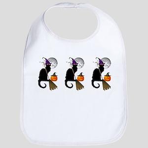 Le Chat Noir - Halloween Witch Bib