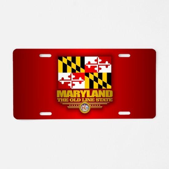 Maryland (v15) Aluminum License Plate