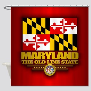Maryland (v15) Shower Curtain