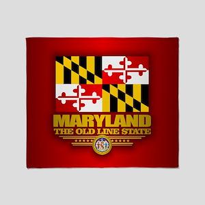 Maryland (v15) Throw Blanket