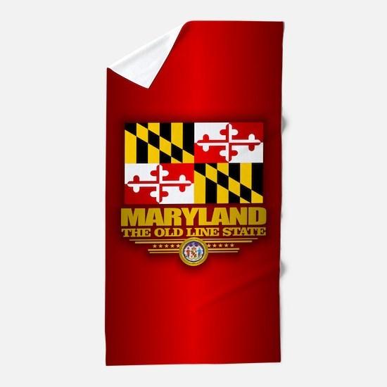 Maryland (v15) Beach Towel