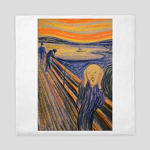 Famous Paintings: The Scream Queen Duvet