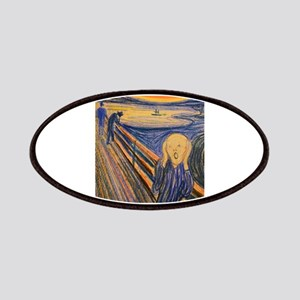 Famous Paintings: The Scream Patches