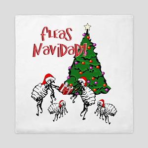 FLEAS NAVIDAD - Christmas Fleas and Ch Queen Duvet
