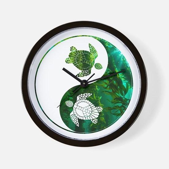 YN Turtle-03 Wall Clock