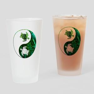 YN Turtle-03 Drinking Glass