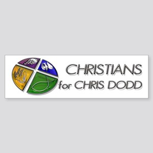 Christians for Chris Dodd Bumper Sticker