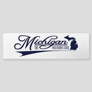 Michigan State of Mine Bumper Sticker