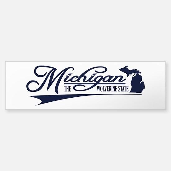 Michigan State of Mine Bumper Bumper Bumper Sticker