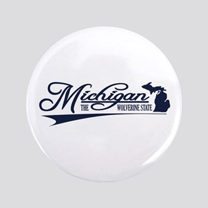 "Michigan State of Mine 3.5"" Button"