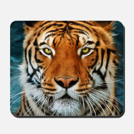 Tiger in Water Photograph Mousepad