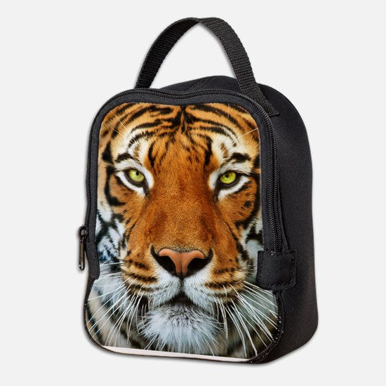 Tiger in Water Photograph Neoprene Lunch Bag