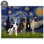 5.5x7.5-Starry-GDaneQUAD Puzzle