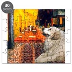 Great Pyrenees 2 - Terrace Cafe Puzzle