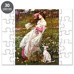 WINDFLOWERS-ItalianGreyhound5 Puzzle