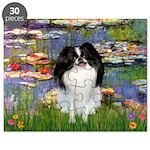 5.5x7.5-Lilies2-JapChin Puzzle