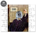 Whistlers Mother - Keeshond (F) Puzzle