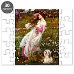 Lhasa Apso 4 - Windflowers Puzzle