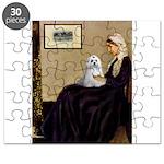 10x14-WMom-Maltese9 Puzzle