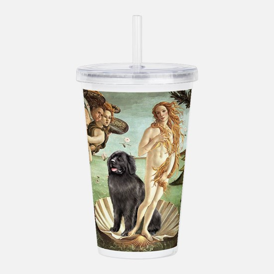 VENUS-Newfie-Blk2.png Acrylic Double-wall Tumbler