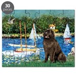MP-SAILBOATS1-Newfie-Brown2 Puzzle