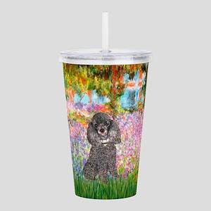 Poodle (8S) - Garden Acrylic Double-wall Tumbl