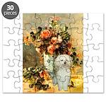 Poodle (13W) - Vase of Flowers Puzzle