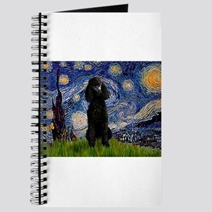 5.5x7.5-Starry-Pood-Blk-Paris Journal
