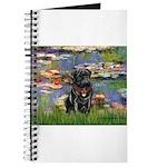 MP-LILIES2-Pug-Blk14 Journal