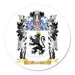 Girardot Round Car Magnet