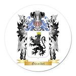 Girardet Round Car Magnet