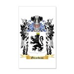 Girardeau 35x21 Wall Decal