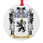 Giraldon Round Ornament