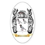 Giovannini Sticker (Oval 10 pk)
