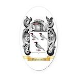 Giovannilli Oval Car Magnet
