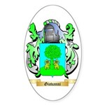 Giovanni (2) Sticker (Oval 10 pk)