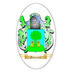 Giovanni (2) Sticker (Oval 50 pk)