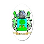 Giovanni (2) 20x12 Oval Wall Decal