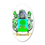 Giovanni (2) 35x21 Oval Wall Decal